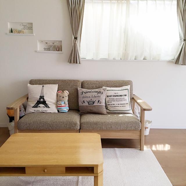 ソファとクッションのオシャレな組み合わせをご紹介 | RoomClip mag | 暮らしとインテリアのwebマガジン