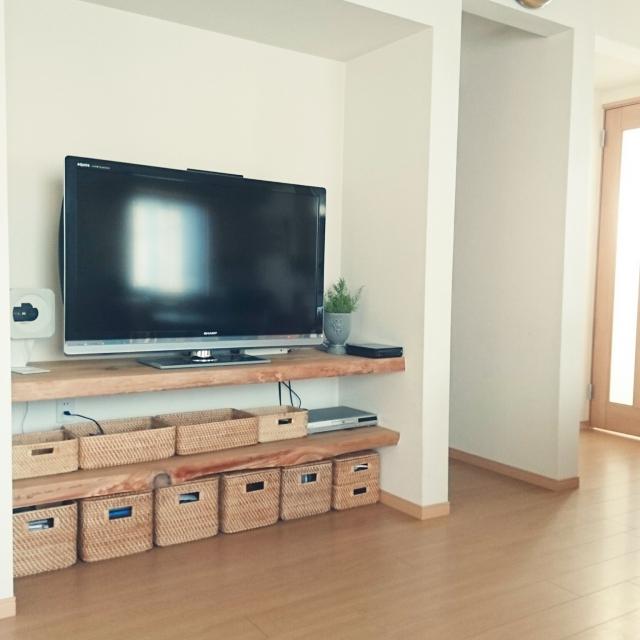 実用的で見た目も◎ニトリのかご収納 | RoomClip mag | 暮らしとインテリアのwebマガジン