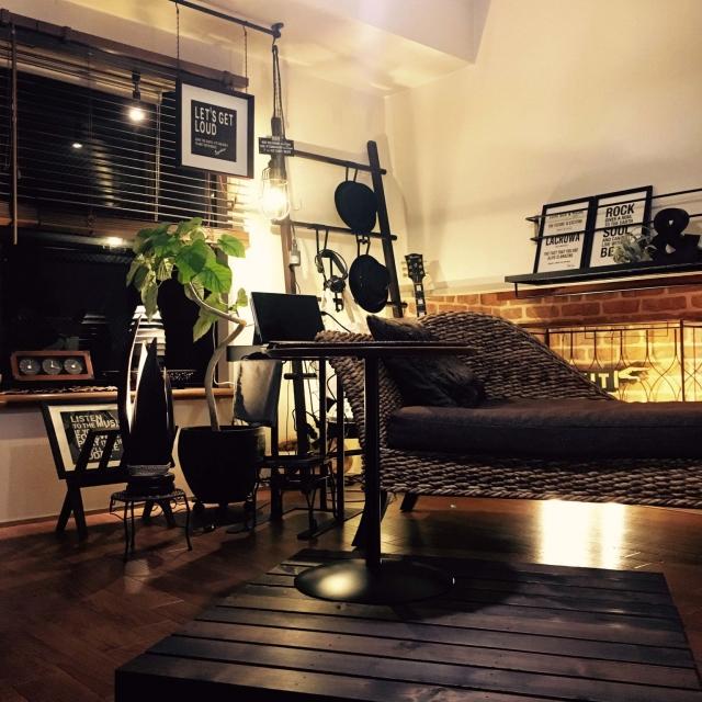 賃貸でも!リゾートインテリアで作るくつろぎリビング | RoomClip mag | 暮らしとインテリアのwebマガジン