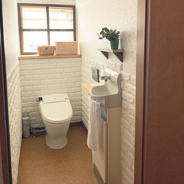 暗いなんて言わせない♪洗面所&トイレが変身するアイデア