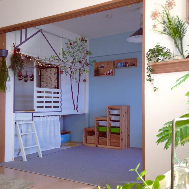 まるで別空間!!参考にしたい押入れDIY | RoomClip mag | 暮らしとインテリアのwebマガジン