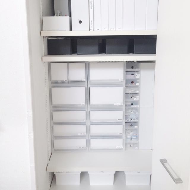収納は無印良品のポリプロピレンケースにお任せ! | RoomClip mag | 暮らしとインテリアのwebマガジン
