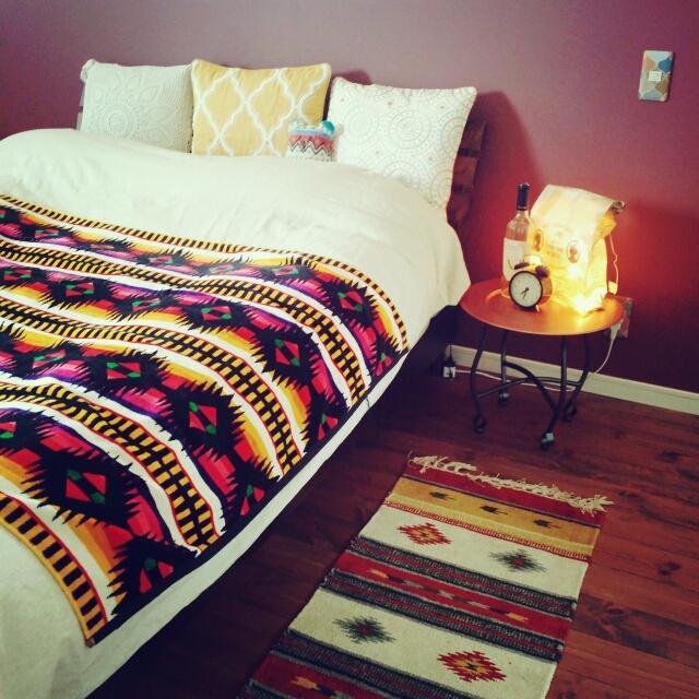 ニトリ、無印良品、しまむらで叶う!自分テイストの寝室 | RoomClip mag | 暮らしとインテリアのwebマガジン