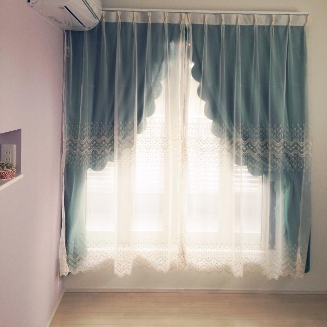 カーテンのアレンジ法とカーテンアクセサリー | RoomClip mag | 暮らしとインテリアのwebマガジン