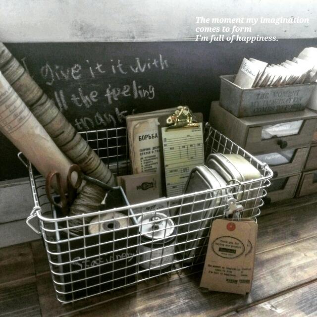 無印良品ステンレスワイヤーバスケットの場所別活用法 | RoomClip mag | 暮らしとインテリアのwebマガジン