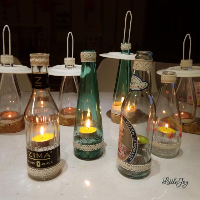 空き瓶は宝物♪色や形を活かしてインテリア小物にリメイク