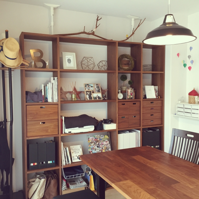 自分だけの棚を作れる♪無印良品のスタッキングシェルフ   RoomClip mag
