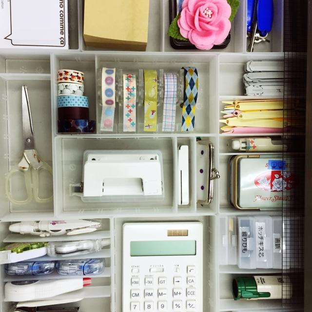 ざっくりなのにすっきり!無印良品の文房具収納術 | RoomClip mag | 暮らしとインテリアのwebマガジン
