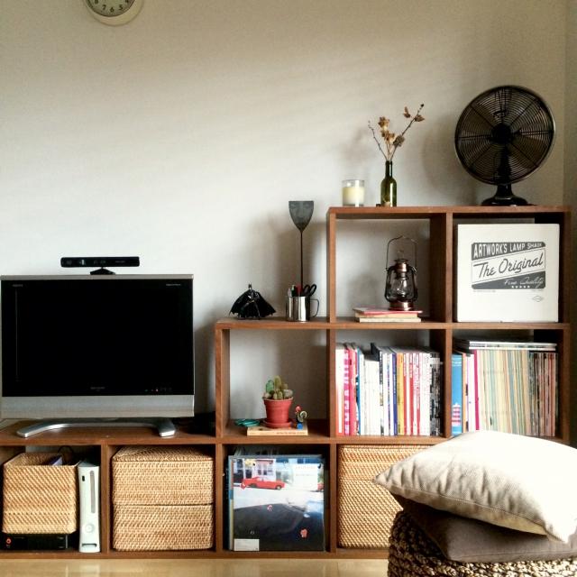 組み立て自由!無印良品のスタッキングシェルフ | RoomClip mag | 暮らしとインテリアのwebマガジン