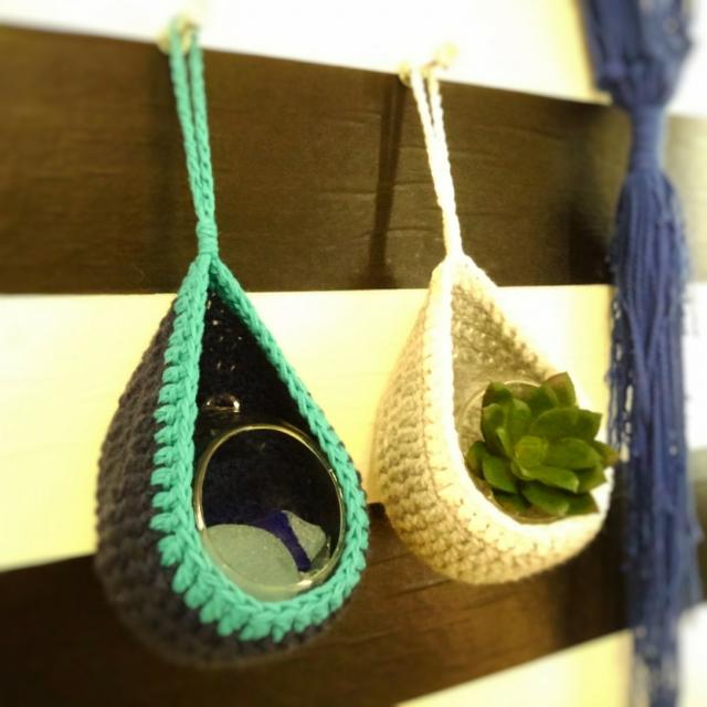 毛糸で自由自在♡センスひかる手編みのインテリアアイテム