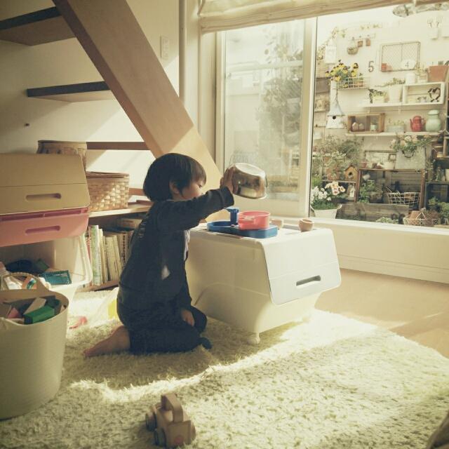 【無料サンプリング】おもちゃ収納、お悩みではないですか?☆山善アイテムでキッズスペースづくりをしてみたい方募集
