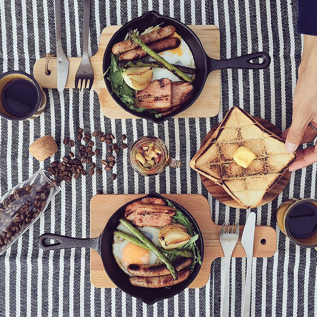 カフェご飯はお家で楽しむ。ワクワクが止まらない風景10選   RoomClip mag   暮らしとインテリアのwebマガジン