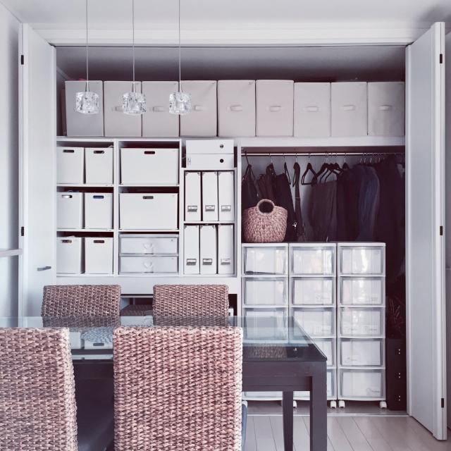 目指せ収納美人!押入れ・クローゼット収納3つのポイント | RoomClip mag | 暮らしとインテリアのwebマガジン