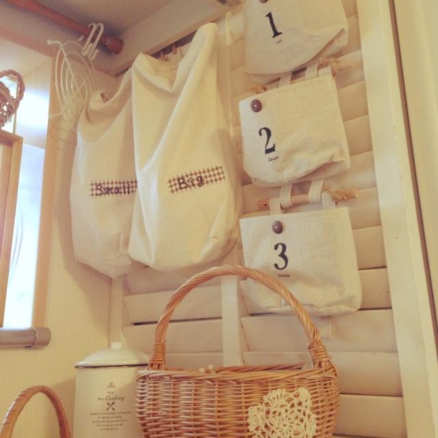 キッチンの袋を分かりやすく収納!ミラクルアイデア10選 | RoomClip mag | 暮らしとインテリアのwebマガジン