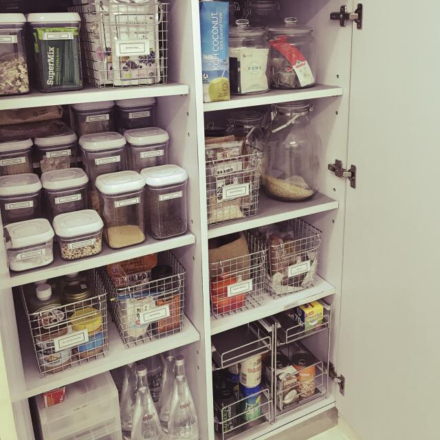 「収納グッズを使いこなして無駄ゼロ◎快適キッチン収納のコツ」 by Emico74さん