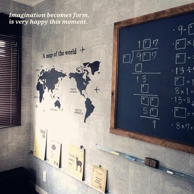 黒板を活かすアイデア☆マネしたくなる10選 | RoomClip mag | 暮らしとインテリアのwebマガジン