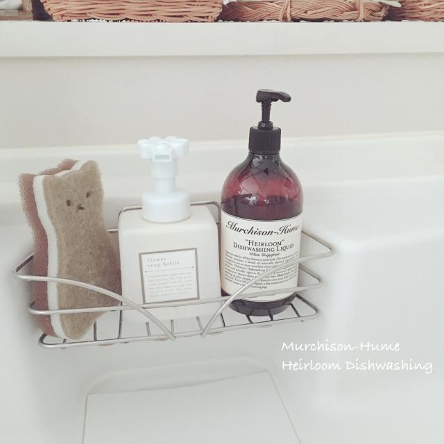 スッキリ&清潔なスポンジ置き場にする方法【キッチン】