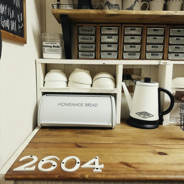 取り入れるだけで一気にカフェに♡ニトリのブレッドケース   RoomClip mag