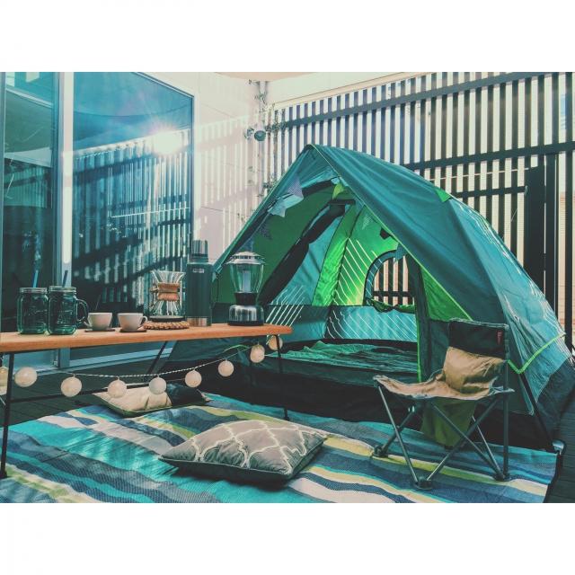 休みがなくても大丈夫!! おうちでキャンプ気分を味わう方法 | RoomClip mag | 暮らしとインテリアのwebマガジン