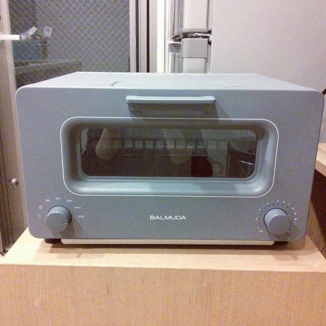 バルミューダのトースター(限定カラーの灰色)23,000円