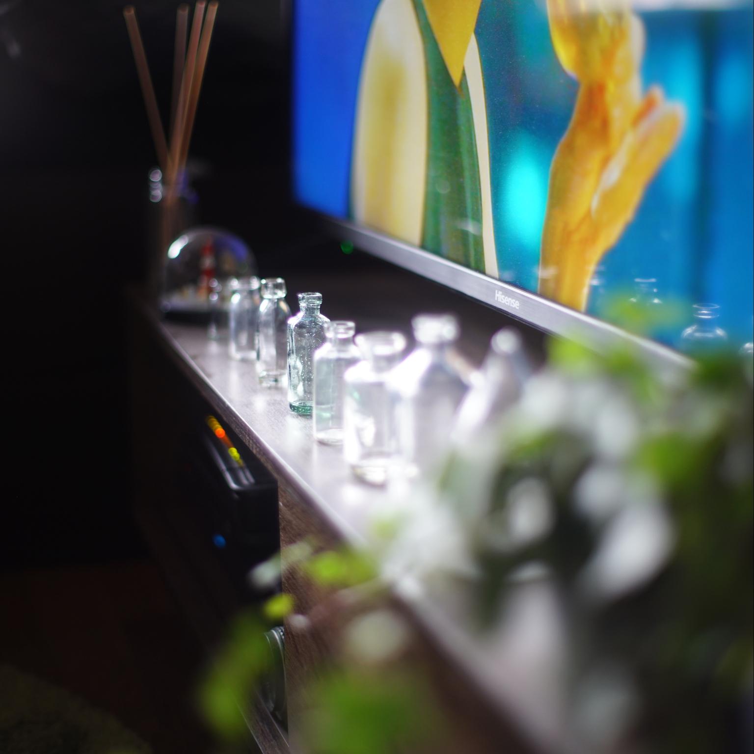 レトロガラス瓶/ワンルーム/一人暮らし/雑貨/レトロ...などのインテリア実例 - 2021-03-09 15:38:30