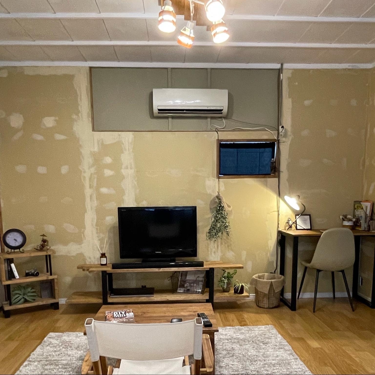 インダストリアル家具/かなでもの/DIY/観葉植物/ハンドメイド...などのインテリア実例 - 2021-09-27 22:25:49