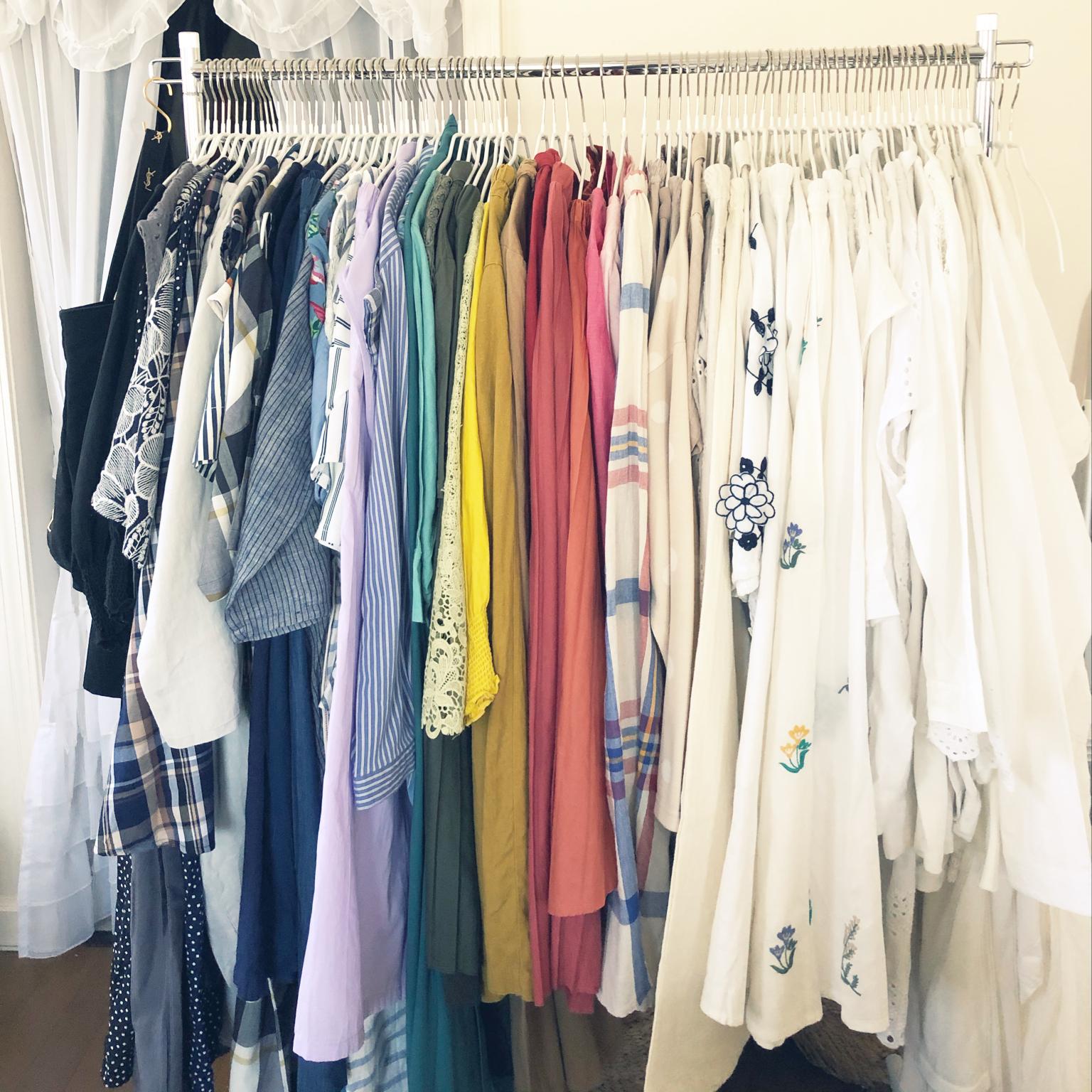 衣替え/写真整理/記録用pic/服の整理/今季の服はどうしようかな...などのインテリア実例 - 2021-09-23 20:49:41