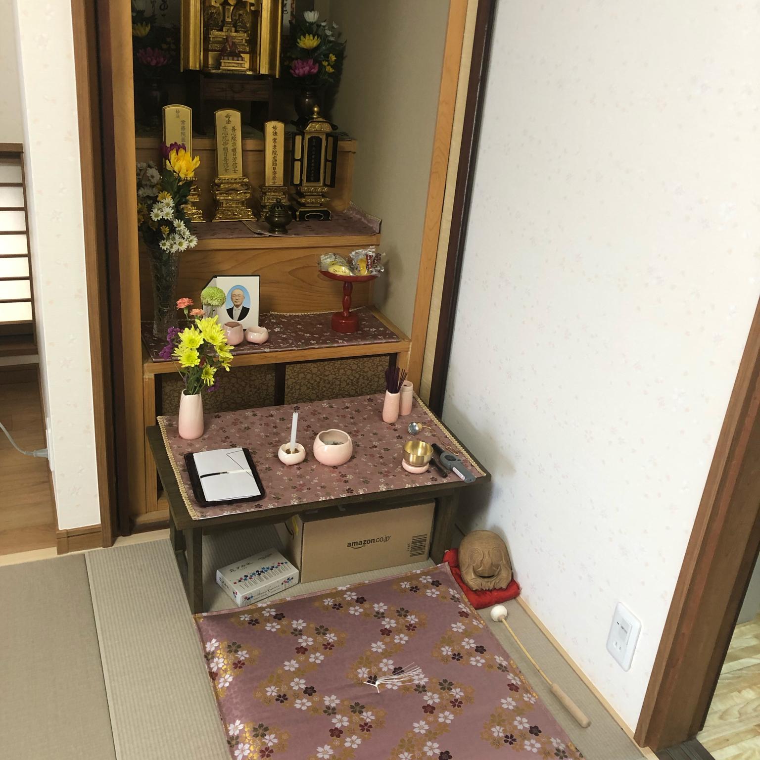 仏壇スペース/仏壇のある部屋/リビングのインテリア実例 - 2021-05-14 13:50:32