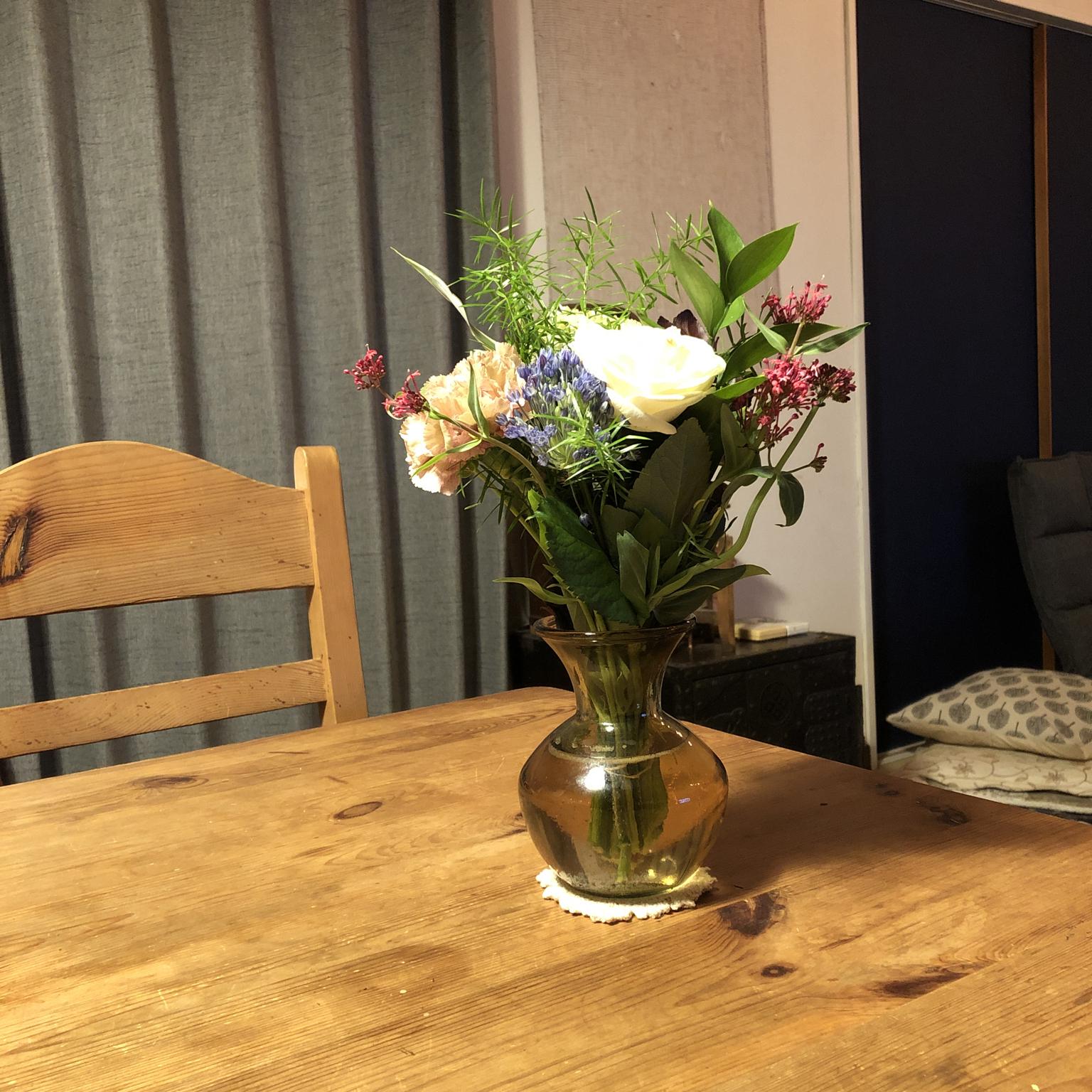 ダイニングテーブル/DIY/古道具のある暮らし/ふるいものが好き/植物のある暮らし...などのインテリア実例 - 2021-05-15 22:35:52