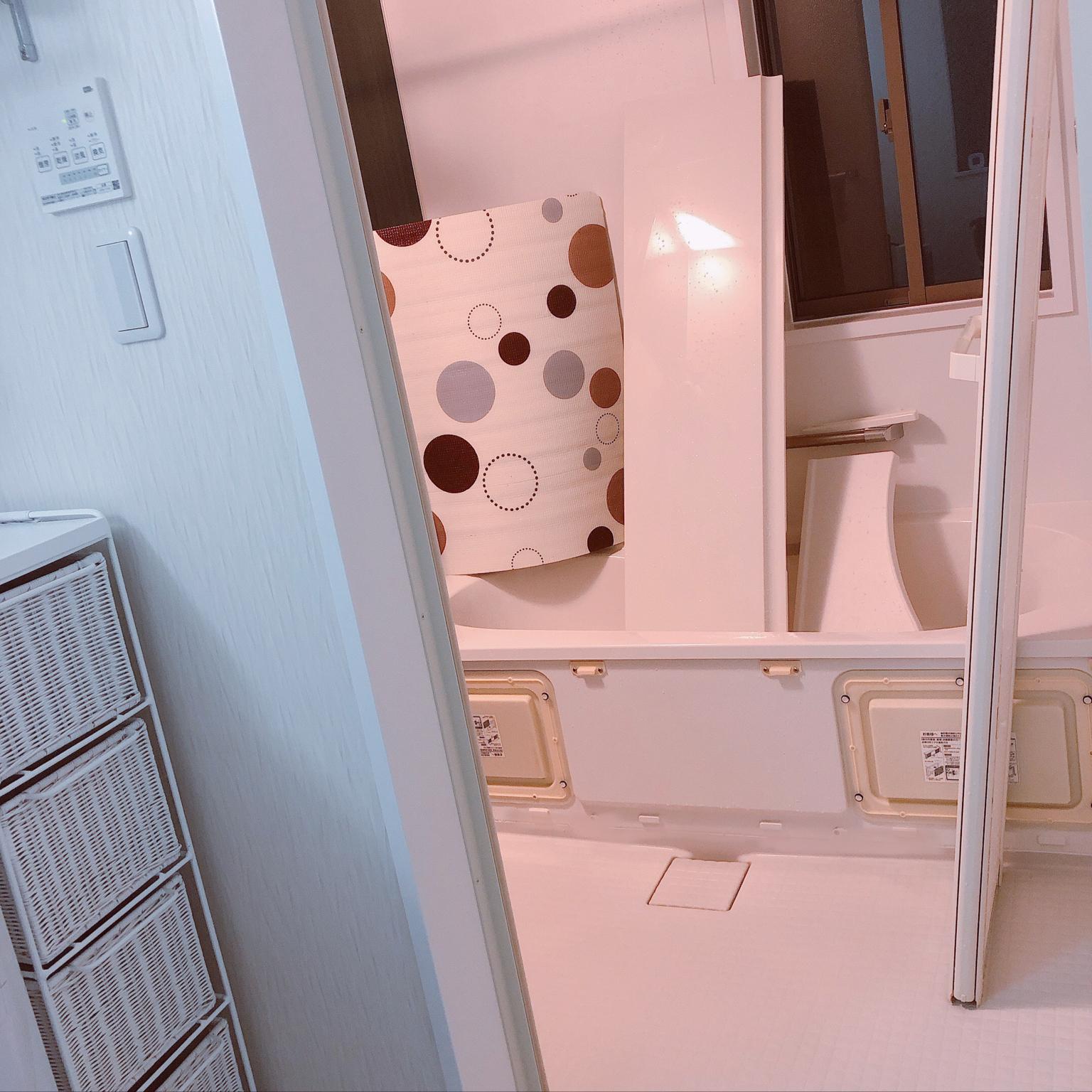 風呂掃除/狭小三階建て/狭小住宅/バス/トイレのインテリア実例 - 2021-04-22 22:42:37