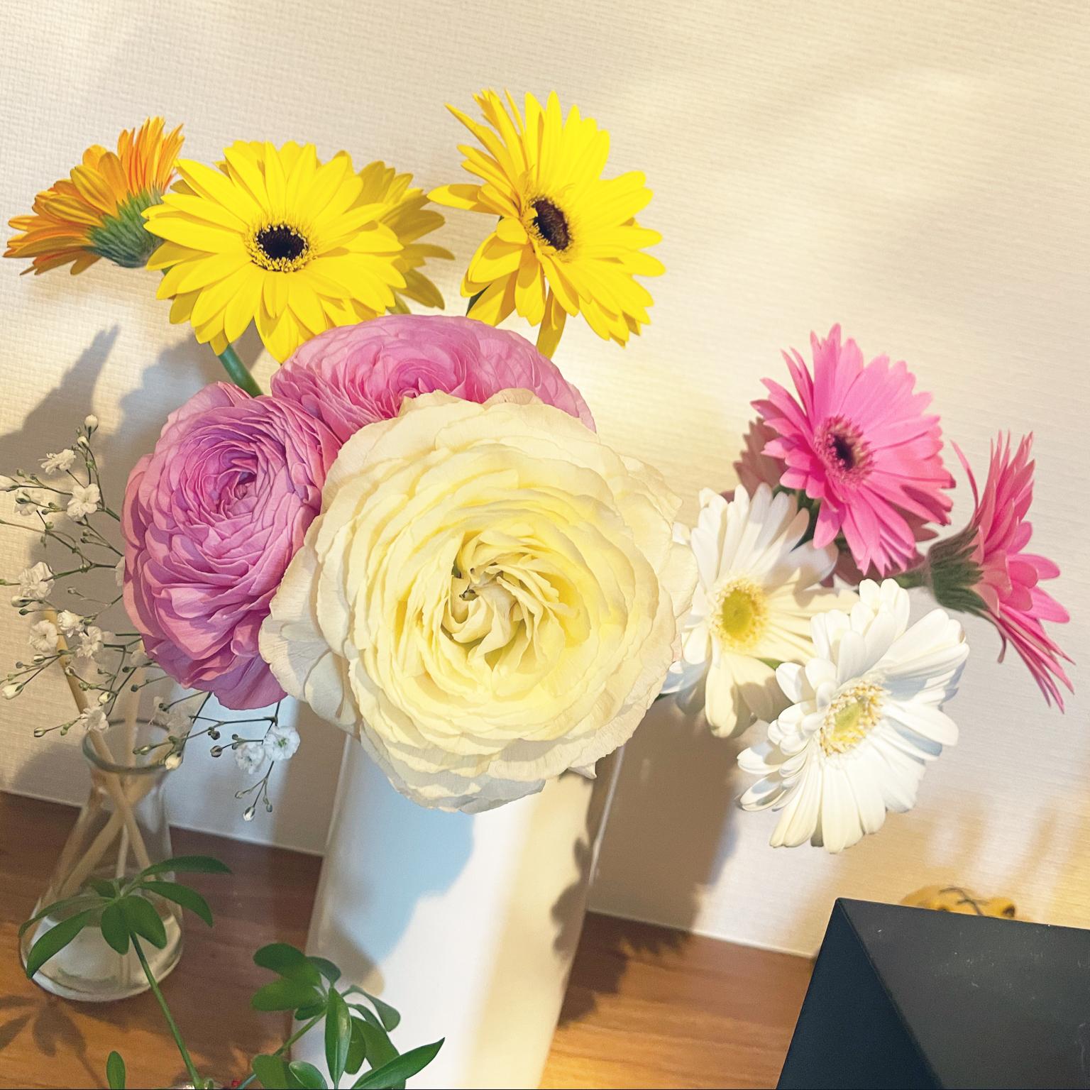 花のある暮らし/植物のある暮らし/シンプルナチュラル/RCの出会いに感謝♡/いつもいいねやコメありがとうございます♡...などのインテリア実例 - 2021-04-09 12:19:08