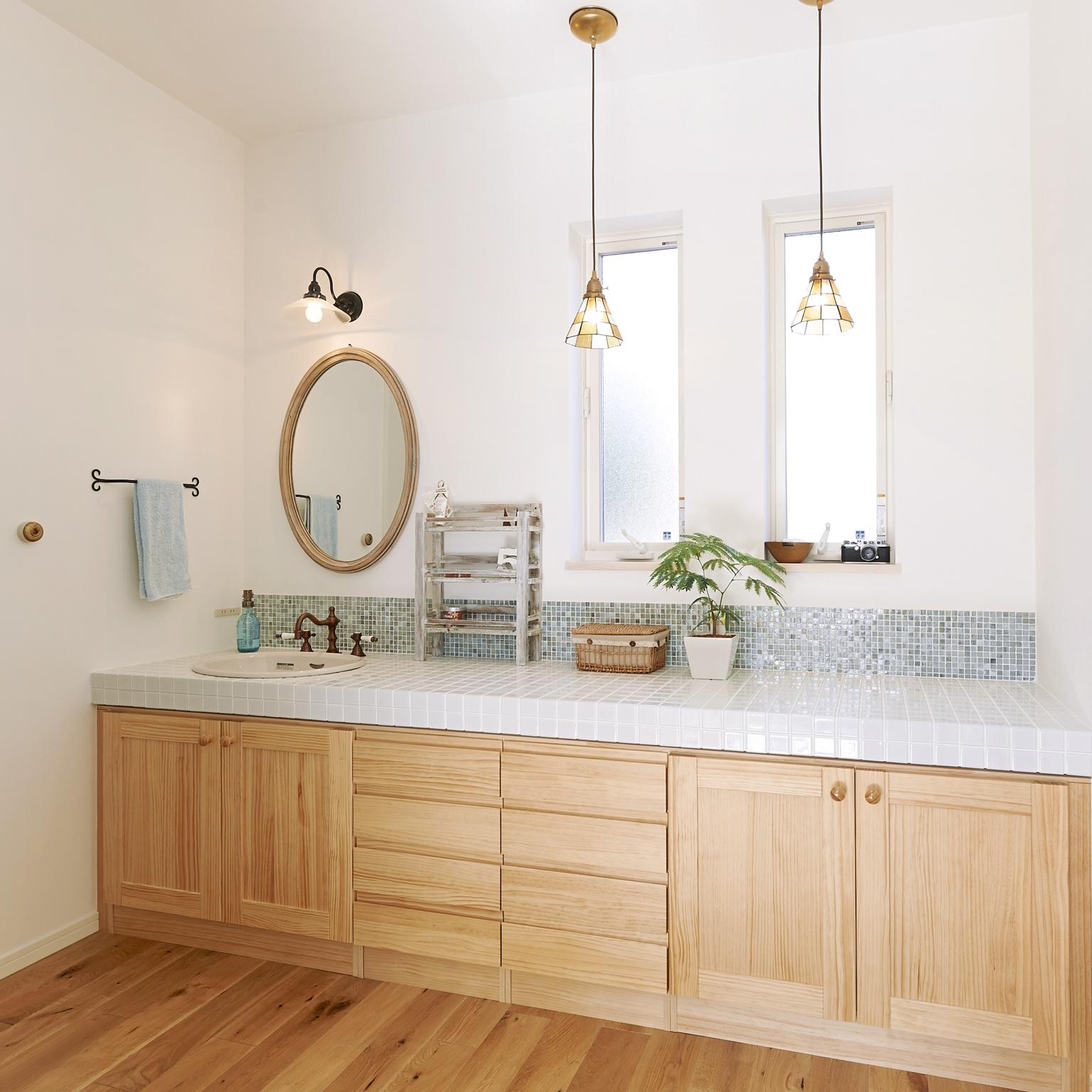 洗面所&脱衣所に注目!気になる水周りインテリアと収納術を大公開