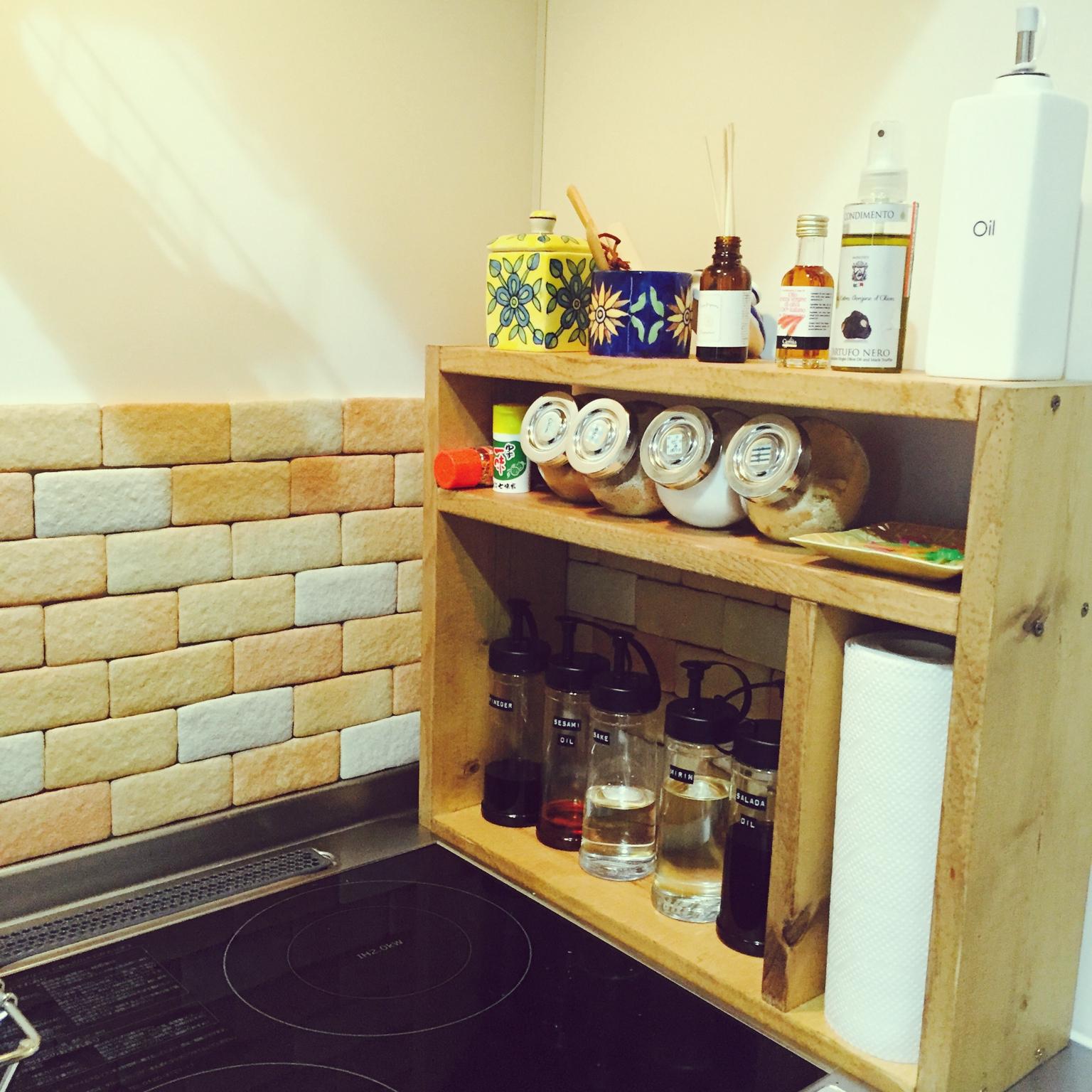 スペースを有効活用!1K・ワンルームキッチンをよりオシャレに使う方法♪