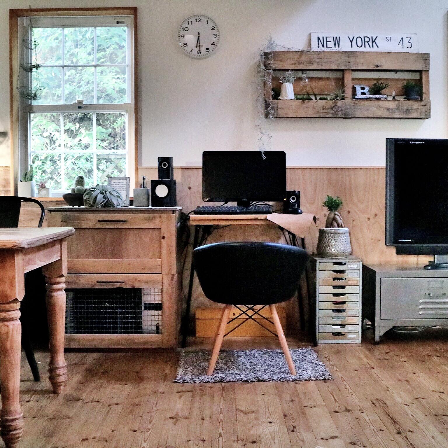 万能木製パレットで作る素敵な部屋