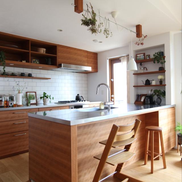 キッチンのスタイルでこんなに違う!レイアウトの実例集