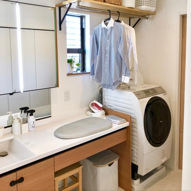 使いやすく整えて快適な毎日に♪洗濯機周りのインテリア