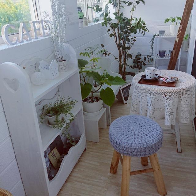 室内でも開放的に!インナーバルコニーや中庭のあるくらし