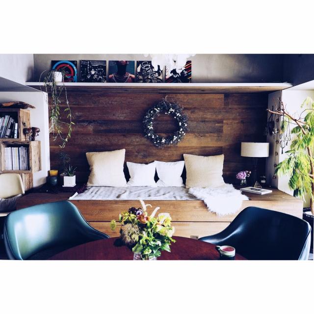 魅力いっぱいのJUNKリビング☆家具や雑貨を選ぶポイント