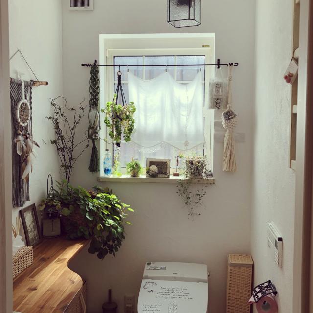 空間をやさしく飾る♡こだわりのカフェカーテン実例選