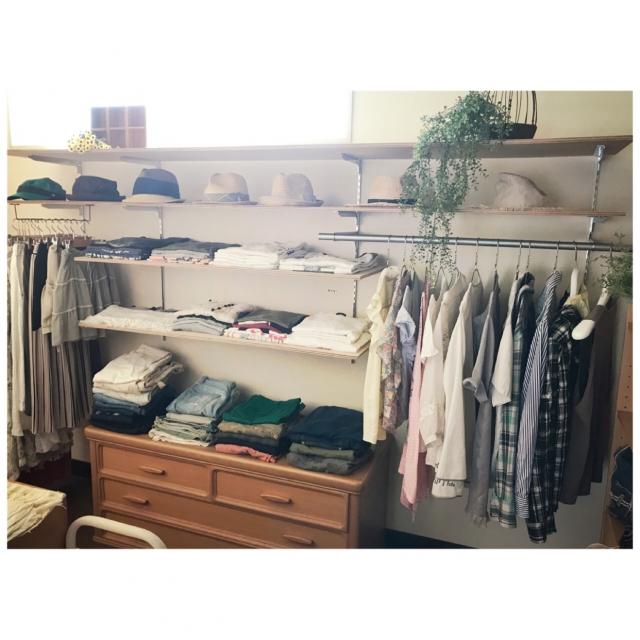 お気に入りの服が活きる♡ショップのような衣類収納