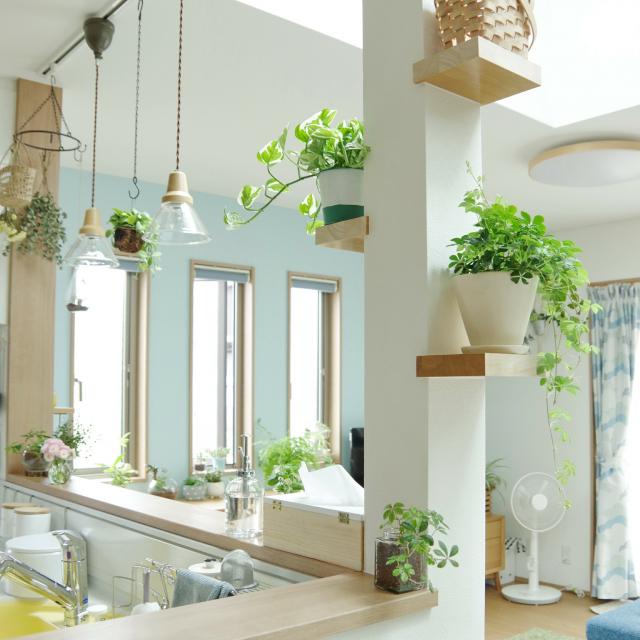 美しい光で癒しのある空間に☆ペンダント照明のあるお部屋