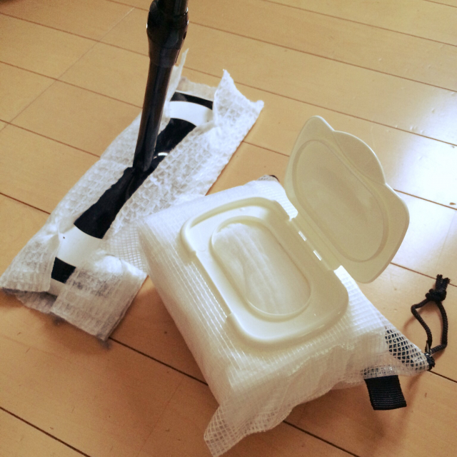「ハサミで切るだけ!出し入れ&詰め替え簡単◎掃除シートケース」 by jinさん