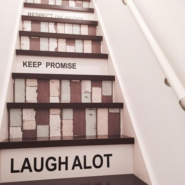 レンガの階段!?