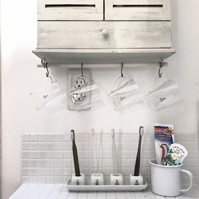 気持ちのいい毎日に!ダイソーの陶器製歯ブラシスタンド