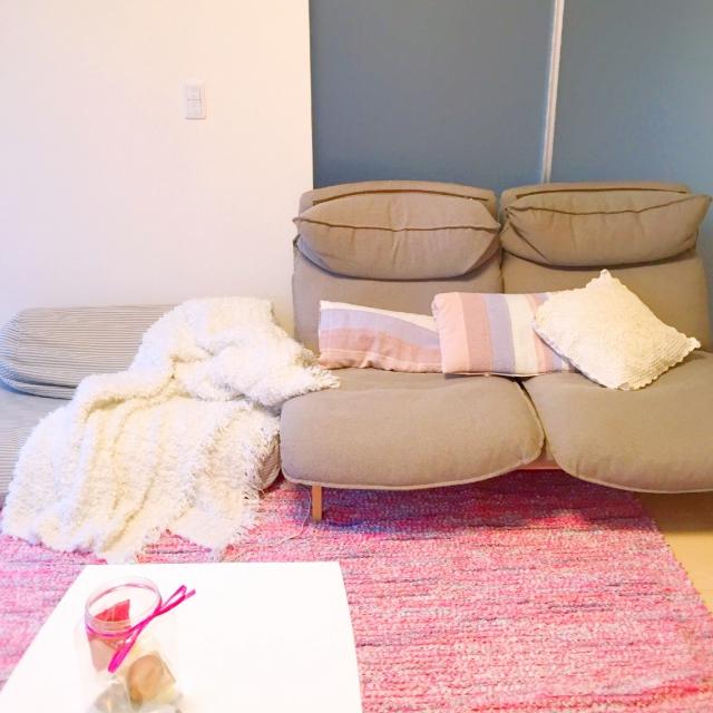 Sanaさんのリクライニングソファ