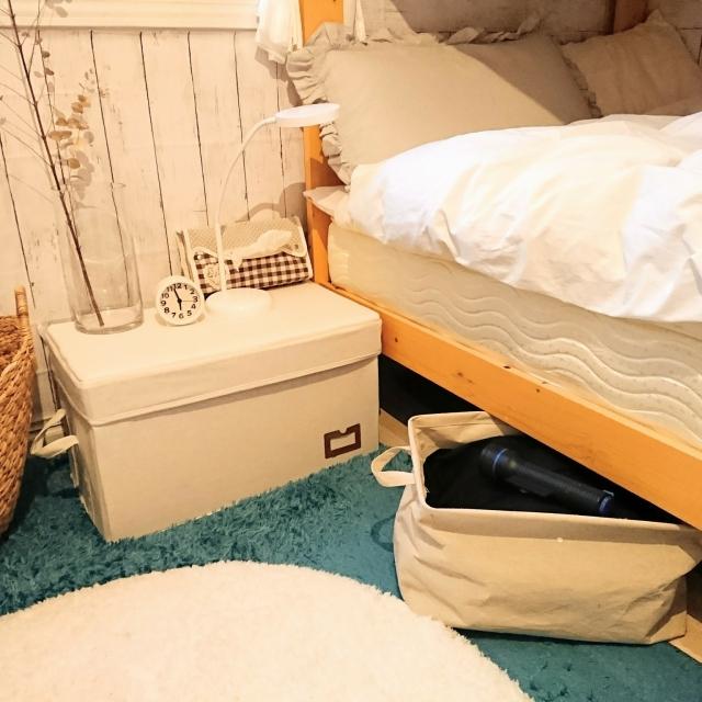 スッキリルームでゆっくり就寝を☆寝室の収納アイディア