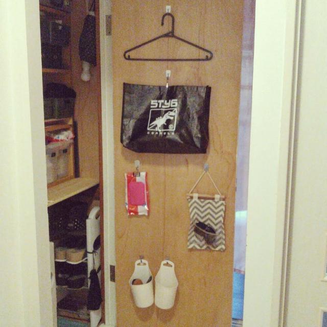 扉裏が便利すぎる♡家中で使える目から鱗の収納アイディア