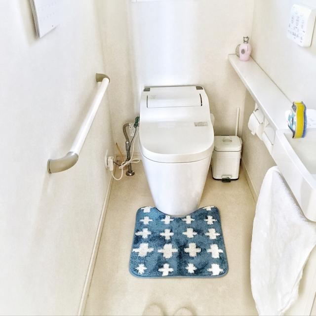 トイレを明るく居心地よい空間に♡ダイソーのトイレグッズ
