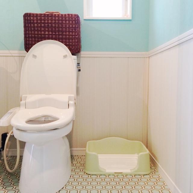 トイレはトイレ空間に置く