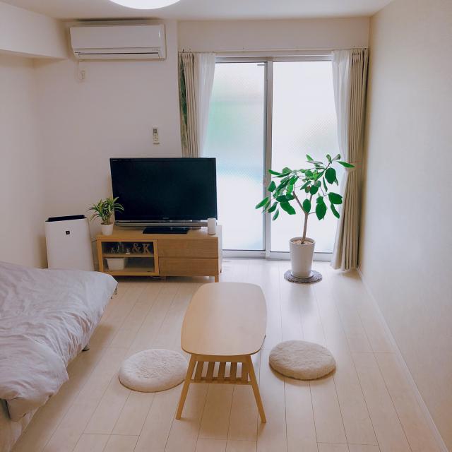 お部屋作りのお手本にしたい♪6~8畳のレイアウト実例